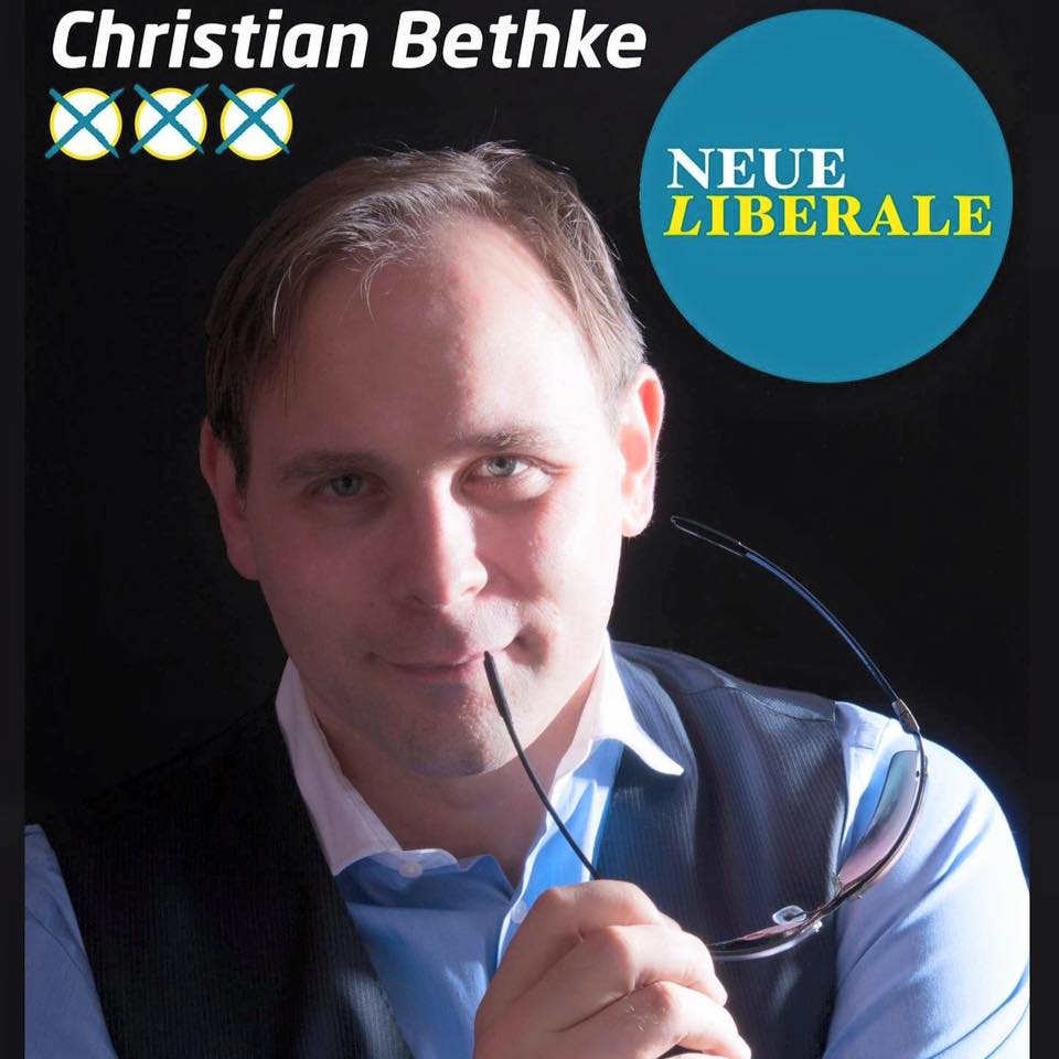 Plakat Christian Bethke
